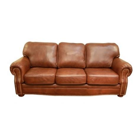 burnt orange leather sofa rockford leather burnt orange sofa for the home