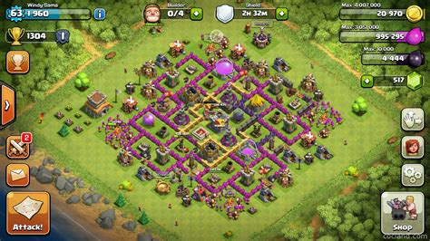 layout coc 4 mortar base defense th8 mortars car interior design