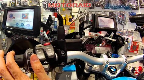 Bmw Motorrad Navigator V For Sale by Bmw Motorrad Navigator Iv On Bmw R 1200 Gs Lc 2013 Review