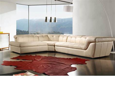 modern italian leather sofas dreamfurniture com divani casa refata modern italian