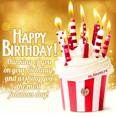 thinking     birthday  wishing    fabulous day gif   davno