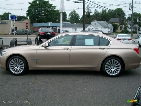 2011 Bmw 750li by 2011 Beige Metallic Bmw 7 Series 750li Xdrive Sedan