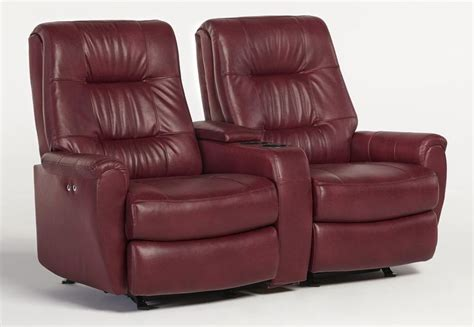 small reclining sofas recliner loveseats for small spaces small scale