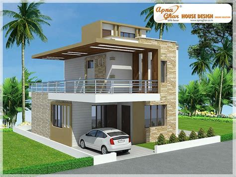 modern home design duplex modern duplex house design in 126m2 9m x 14m like share