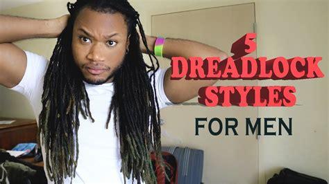 Simple Styles For Long Dreadlocks