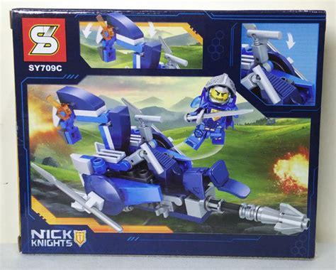 Lego Sy Nick Knights Sy566 jual lego nick knights clay sy709c lego nexo knights sy