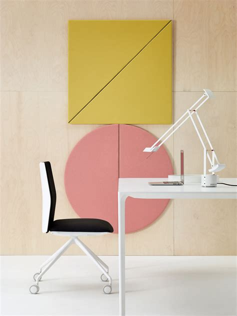 design milk submissions geometric acoustic wall panels by arper design milk