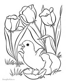 flowers coloring easter flower coloring pages flower coloring page
