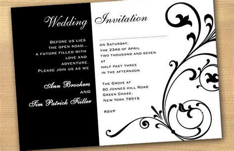 wedding invitations black and pink wedding invitations wedding invitations
