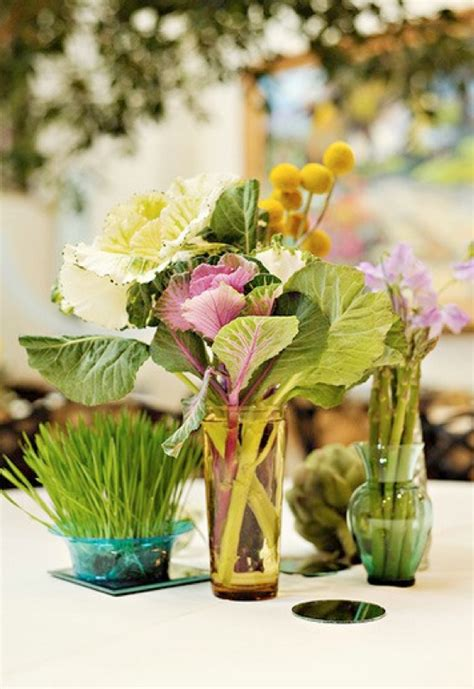 big y vegetables vegetable table decorations veggies fruits and herbs as
