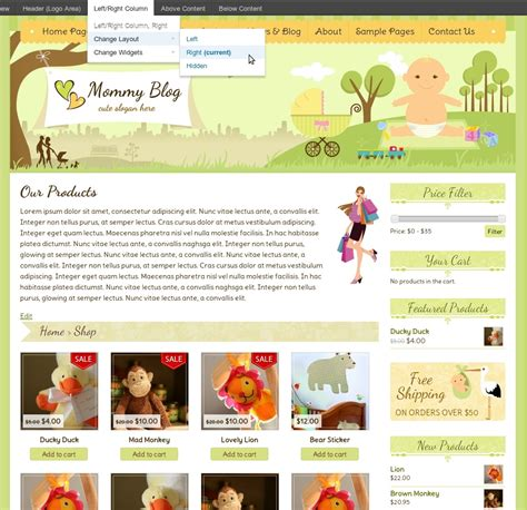 mommy blog wordpress themes templates for mom blogs