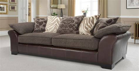 martina 4 seater pillow back sofa sitting room