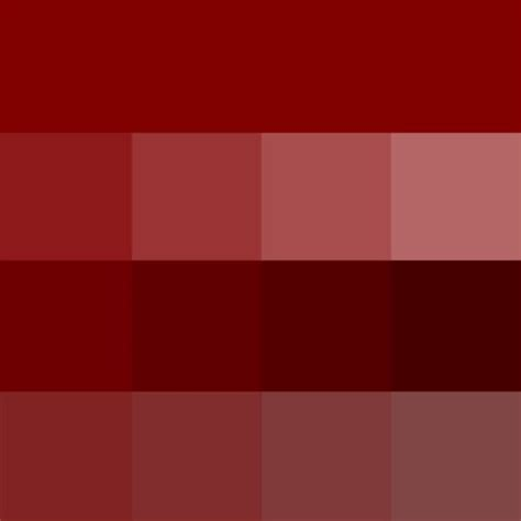 maroon color palette maroon hue pure color with tints hue white