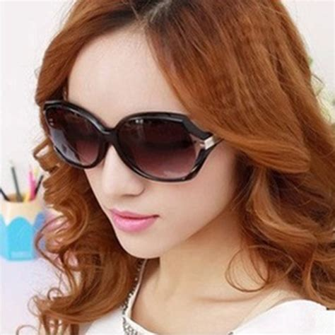 Kacamata Wanita Steunk Polarized Retro 1 large hollow outdoor sunglasses black