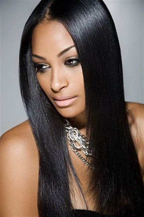 2014 african american long hairstyles for women invisible part most beautiful black women hairstyles yve style