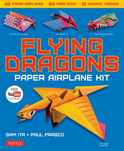 How To Make Paper Planes Book - flying dragons paper airplane kit newsouth books
