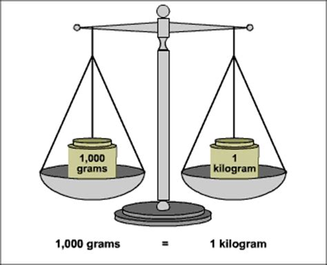 how can you convert kilograms to grams exle