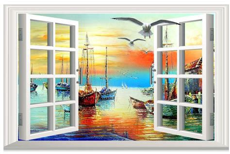 fashion wall murals new large mural wall paper sailing out of the window wallpaper wallpapers fashion personalized