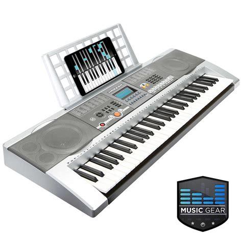 Keyboard Piano Usb 61 key electronic electric keyboard piano usb silver ebay