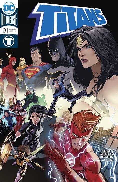 Kaos Gildan Dc Comics Justice League 01 dc comics universe 19 spoilers justice league vs plus flash wally west s