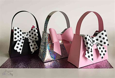 How To Make Paper Purse Gift Bags - bachelorette favors paper purse bugaboocity