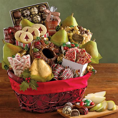 deluxe christmas gift basket gift baskets harry david