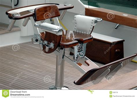 stoel visboot sport fishing chair royalty free stock image image 539716