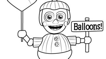 fnaf coloring pages balloon boy balloon boy coloring pages coloring page