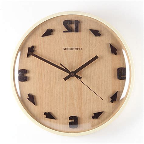 decorative clock creative large decorative wall clock modern design round