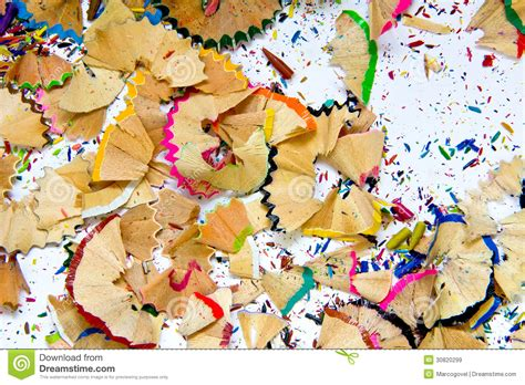 pencil sharpener waste royalty  stock images image