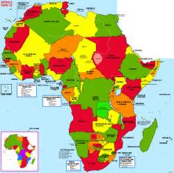 The Map Of Africa by Historical And Political Maps Of Africa
