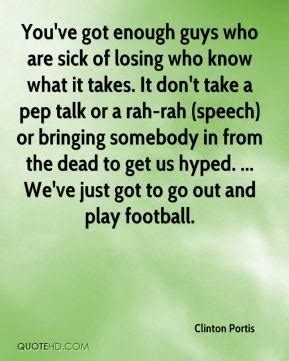 you ve got this a pep talk for church comunicators books football pep talk quotes quotesgram