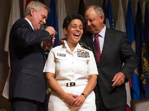admiral howard becomes highest ranking