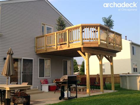 House Plans With Apartment Over Garage Deck Design Ideas By Archadeck Of Chicagoland E2 80 93