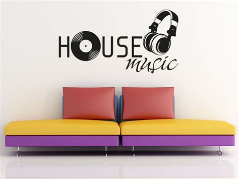 80 s house music wandtattoo house music von klebeheld 174 de