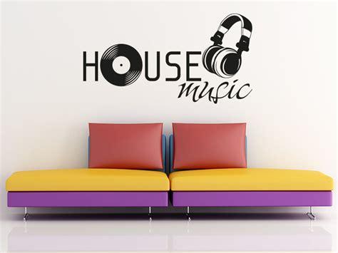 80 s house music wandtattoo house music von klebeheld 174 de