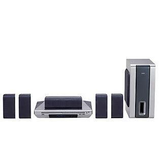 rca rtd170 500 watt cd dvd home theatre system qvc