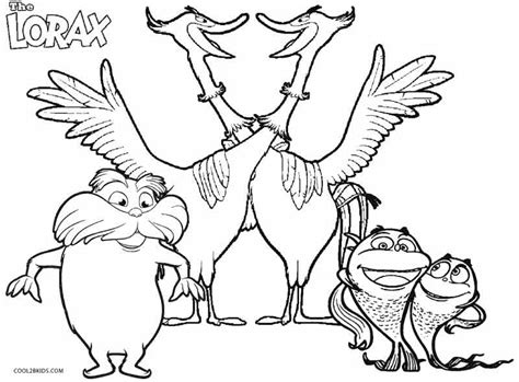 lorax unless coloring pages