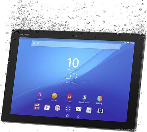 Tablet Sony Xperia Z4 Lte sony xperia z4 tablet lte pictures official photos