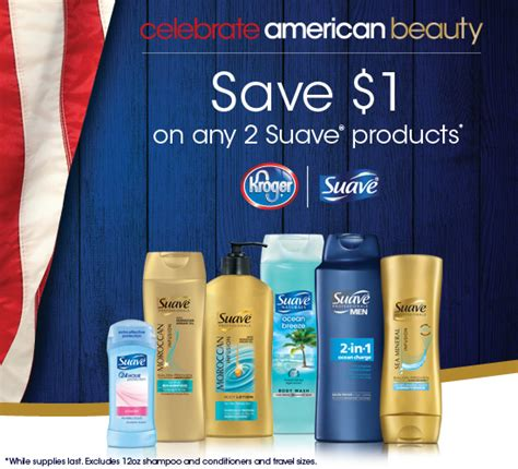 Kroger Coupon Giveaway - win a 250 kroger gift card in the suaveamericanbeauty sweepstakes new suave