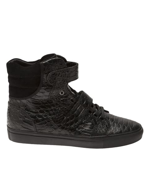 android homme shoes android homme propulsion hi shoe in black for lyst