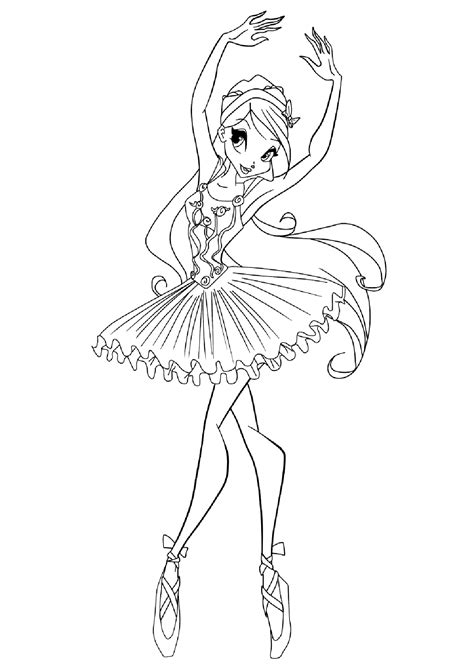 ballerina coloring pages for adults ballet coloring pages for kids free coloring home