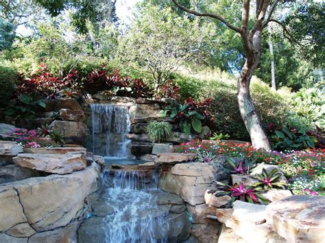 patio water garden a beautiful water garden funnilogy