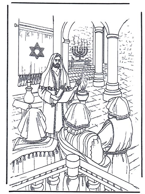 coloring pages baby jesus in the temple jesus in temple bibel fargeleggingstegninger nye testament