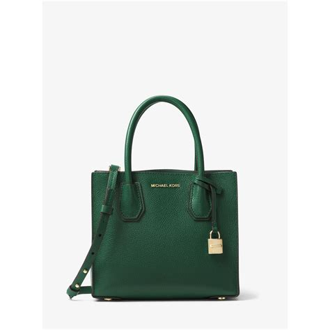 Michael Kors Mercer Bag Ori 2 michael kors mercer medium leather bag in green lyst