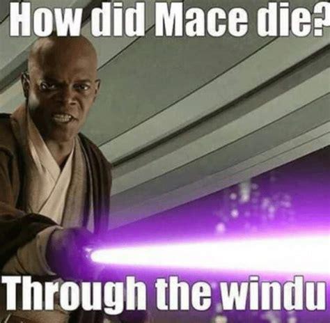 Mace Windu Meme - mace windu s purple lightsaber star wars amino