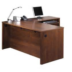 Executive Desk L Shape Embassy L Shaped Executive Desk Wayfair