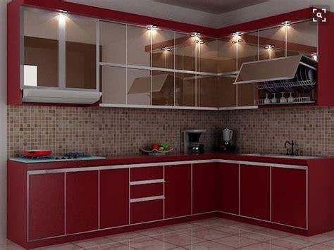 desain dapur mungil bentuk l 20 contoh dapur minimalis desain sederhana dan modern