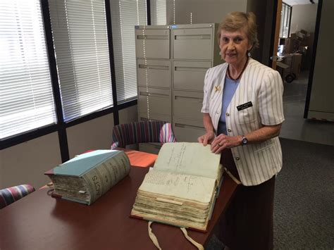 New Orleans Clerk Of Court Records Notarial Archivist Sally Reeves Is Always On The Record Wwno