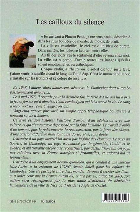 Resume D Un Livre by Les Cailloux Du Silence Cambodge Pays Du Sourire